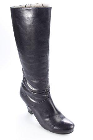 s.Oliver Absatz Stiefel schwarz schlichter Stil