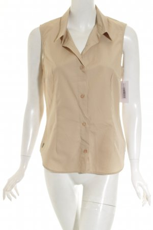 s.Oliver ärmellose Bluse beige Casual-Look