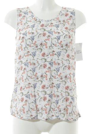s.Oliver ärmellose Bluse Blumenmuster Romantik-Look