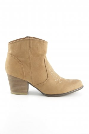 s.Oliver Ankle Boots wollweiß Casual-Look