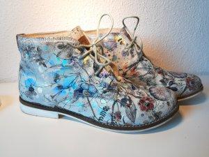 s. Oliver Ankle Boots zum Schnüren mit Schimmer-Effekten