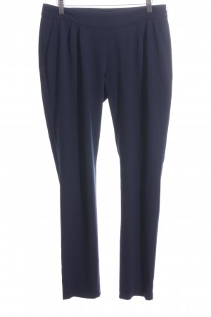 s.Oliver Suit Trouser blue business style