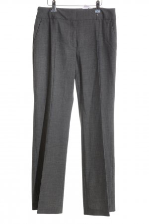 s.Oliver Suit Trouser light grey flecked business style