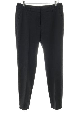 s.Oliver Pantalón de vestir negro estilo «business»