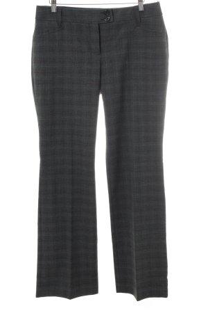 s.Oliver Pantalon de costume gris anthracite-bleu cadet motif à carreaux