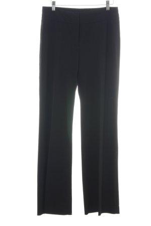 s.Oliver Pantalon zwart zakelijke stijl