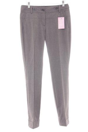 s.Oliver Pantalon de costume gris-noir moucheté style d'affaires