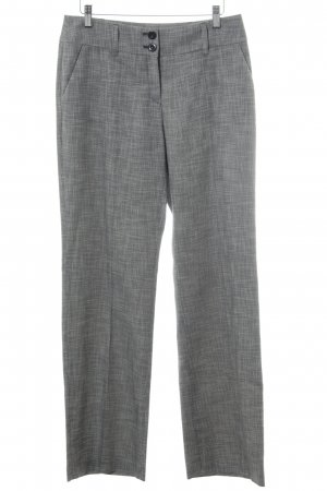s.Oliver Pantalon de costume gris clair-blanc moucheté style d'affaires