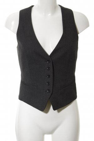 s.Oliver Waistcoat black classic style