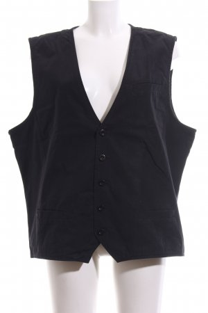 s.Oliver Waistcoat black business style
