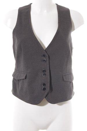 s.Oliver Anzugweste grau-schwarz Fischgrätmuster klassischer Stil