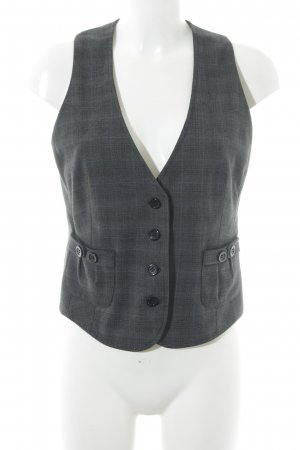 s.Oliver Waistcoat check pattern business style