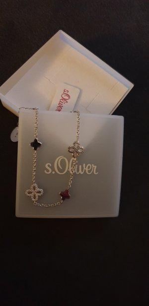 s.Oliver Zilveren armband zilver Zilver