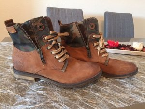 s.Oliver Lace-up Boots multicolored