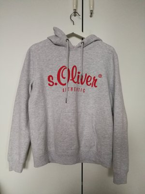 s.Oliver authentic Logokapuzensweatshirt
