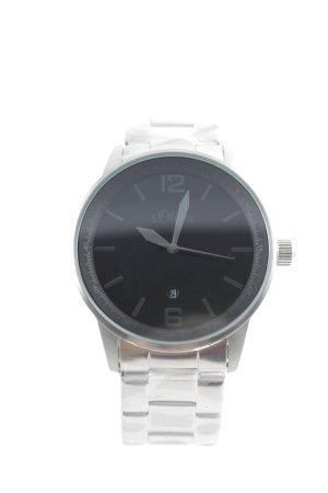 s.Oliver Automatisch horloge zilver casual uitstraling