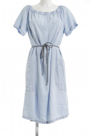 s.Oliver Babydoll Dress azure casual look