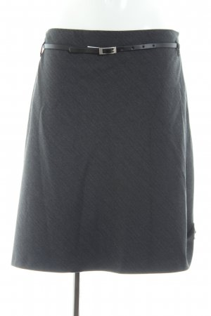 s.Oliver Balloon Skirt light grey-black flecked casual look