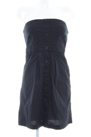 s.Oliver Bandeau Dress black casual look