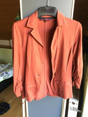 s.Oliver Knitted Blazer cognac-coloured-brown