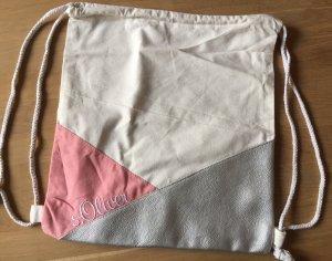 S. Oliver Beutel Rucksack rosa silber - NEU