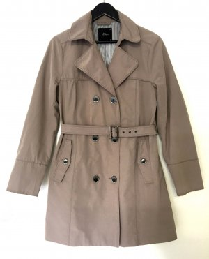 s.Oliver Trench Coat beige