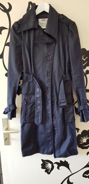 S.oliver blauer Mantel jacke gr s