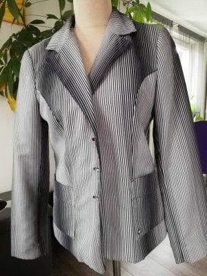 s.Oliver Unisex Blazer black-light grey polyester