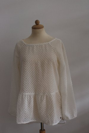 s.Oliver Tunique-blouse blanc polyester