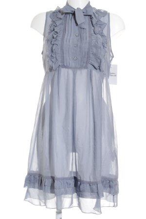 s.Oliver Blusenkleid blassblau Romantik-Look