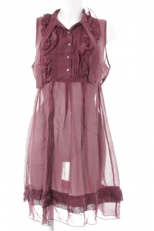 s.Oliver Blusenkleid purpur Elegant