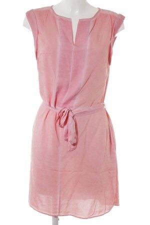s.Oliver Vestido camisero rosa degradado de color estilo sencillo
