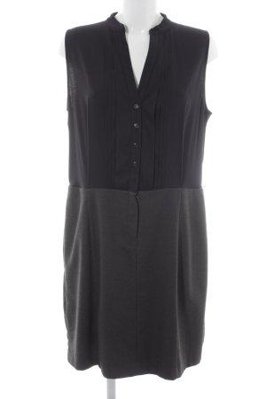 s.Oliver Blouse Dress black-grey spot pattern elegant