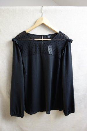 s.Oliver Boho-Bluse schwarz