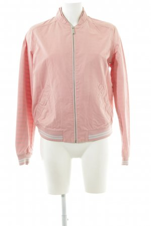 s.Oliver Bomberjacke pink-weiß Casual-Look
