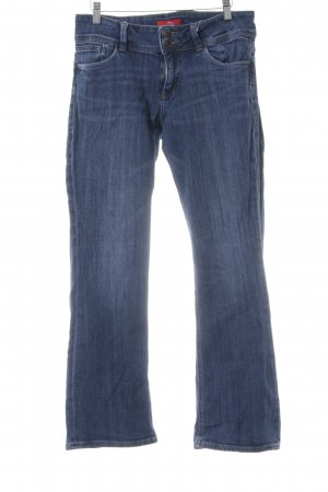 s.Oliver Boot Cut Jeans blau Jeans-Optik