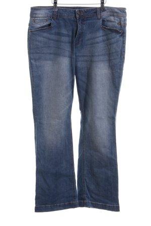 s.Oliver Boot Cut spijkerbroek blauw casual uitstraling