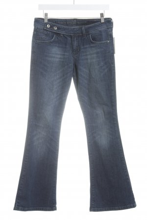 s.Oliver Boot Cut Jeans dunkelblau sportlicher Stil