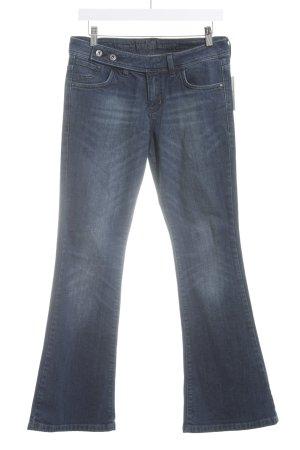 s.Oliver Boot Cut spijkerbroek donkerblauw atletische stijl