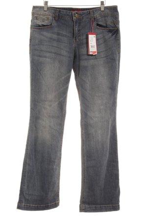 s.Oliver Boot Cut spijkerbroek leigrijs-lichtblauw vintage uitstraling