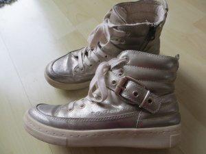 S.Oliver Boots  Sneakers gefüttert metallic Schnalle Stiefelette Gr. 38