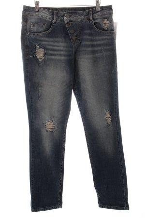 s.Oliver Boyfriend jeans blauw ontspannen stijl