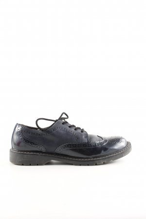 s.Oliver Wingtip Shoes blue elegant