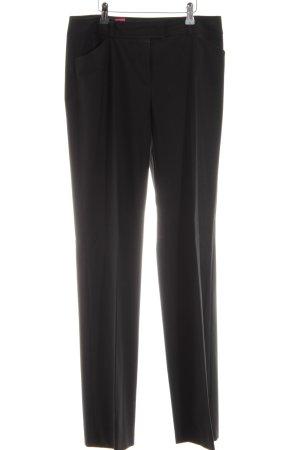 s.Oliver Pantalon à pinces noir style d'affaires