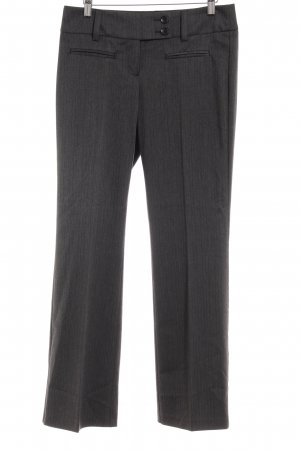 s.Oliver Bundfaltenhose anthrazit-grau Nadelstreifen Business-Look