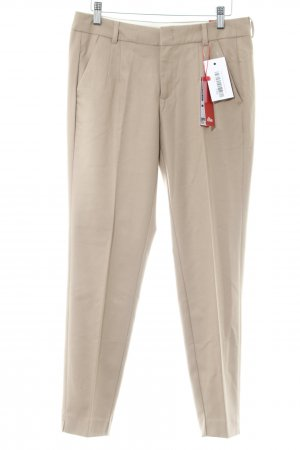 s.Oliver Bundfaltenhose beige Business-Look