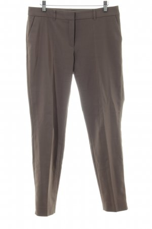 s.Oliver Bundfaltenhose bronzefarben Business-Look