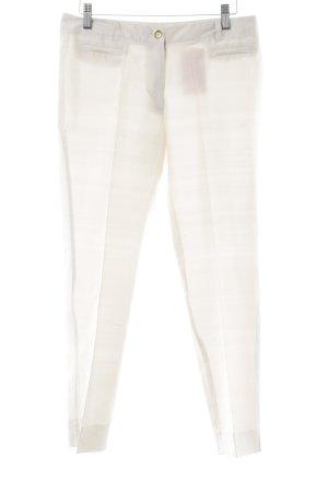s.Oliver Pantalon à pinces crème élégant