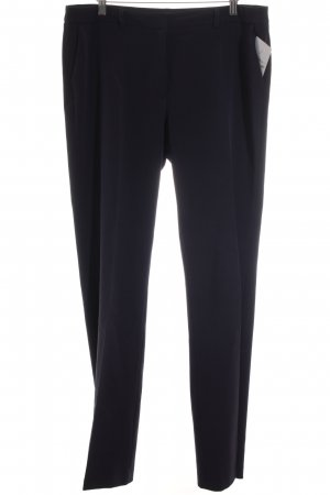 s.Oliver Bundfaltenhose dunkelblau Business-Look