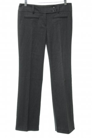 s.Oliver Bundfaltenhose dunkelgrau Business-Look
